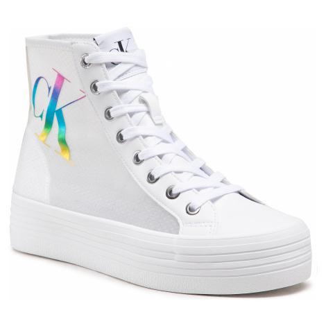 Sneakersy CALVIN KLEIN JEANS - Vulcanized Ff Highalceup Trn Pa YW0YW00068 YAF