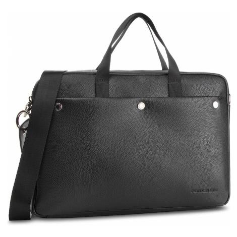 Torba na laptopa CALVIN KLEIN JEANS - Logo Banner (M) Laptop Bag K40K400809 Black 001