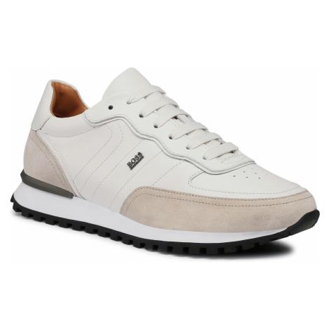 Sneakersy BOSS - Parkour L 50452041 10214643 01 White Hugo Boss