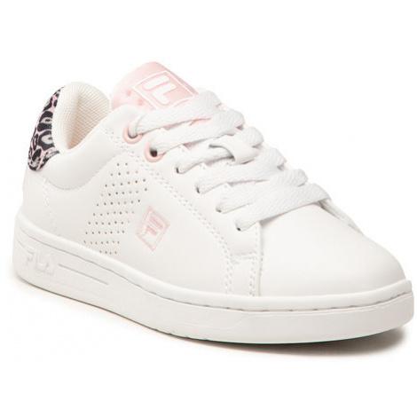 Fila Sneakersy Crosscourt 2 Nt Kids 1011115.94F M Biały