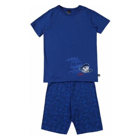 SCHIESSER Piżama niebieski