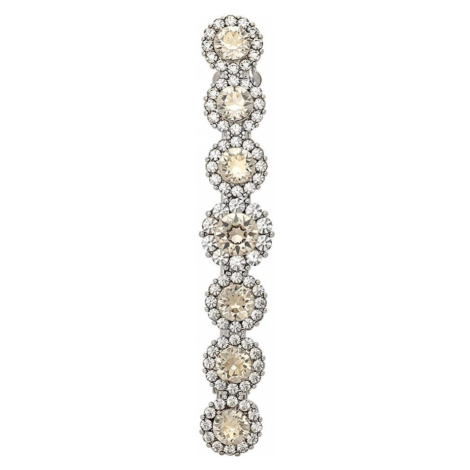LILY AND ROSE Biżuteria do włosów 'Sienna hairpinn - Crystal' srebrny / kremowy