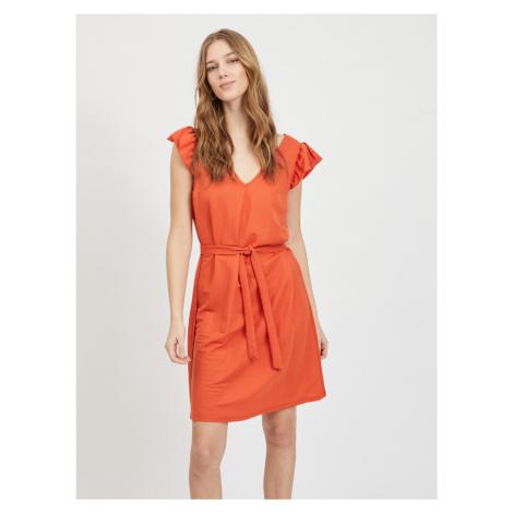 Sukienki z krótkim rękawem Vila