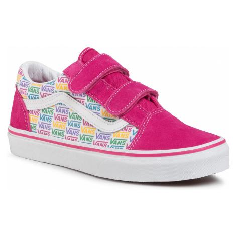 Sneakersy VANS - Old Skool V VN0A4UI10GW1 (Rainbow Vans) Cabarttrwht