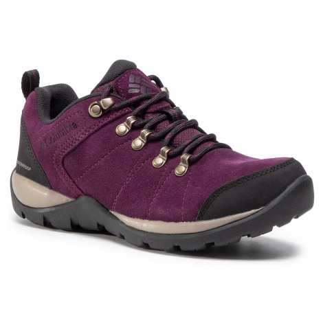 Trekkingi COLUMBIA - Fire Venture S II Wp BL0827 Black Cherry/Wet Sand 639