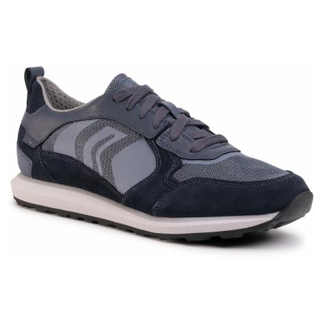 Sneakersy GEOX - U Volto D U029WD 02214 CF44Y Navy/Lt Lato