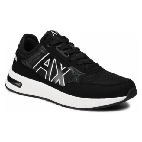 Armani Exchange Sneakersy XUX090 XV276 00002 Czarny