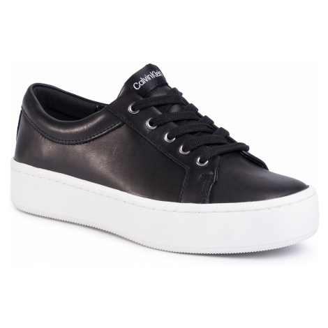 Sneakersy CALVIN KLEIN - Corrica E4474 Black/Dusty Blue