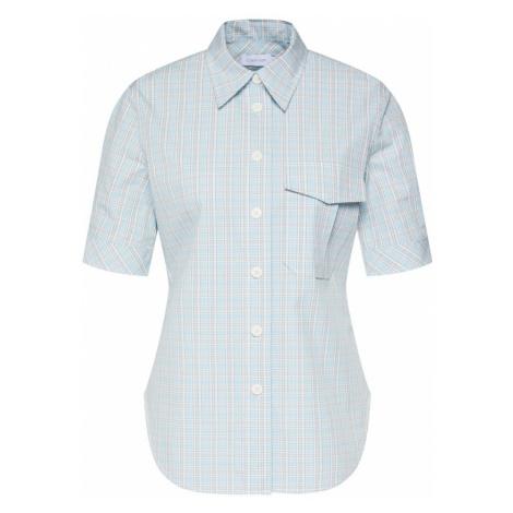 Calvin Klein Bluzka 'FARMHOUSE CHK SHIRT SS' niebieski