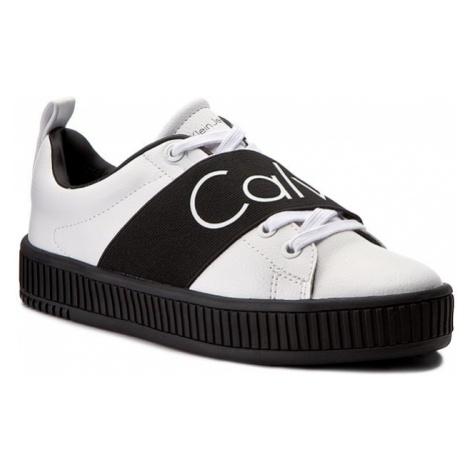 Sneakersy CALVIN KLEIN JEANS - Antonia R0658 White/Black