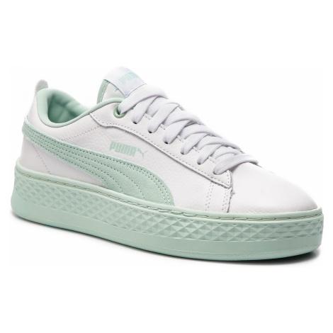 Sneakersy PUMA - Smash Platform L 366487 07 Puma White/Fair Aqua