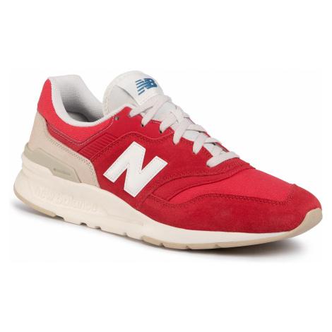Sneakersy NEW BALANCE - CM997HBS Czerwony