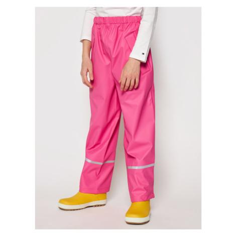 Playshoes Spodnie przeciwdeszczowe 405423 M Granatowy Regular Fit