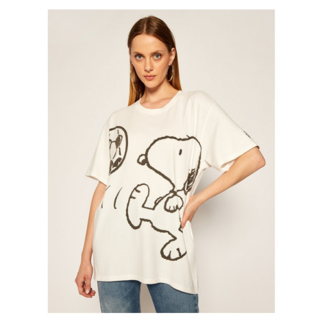 Levi's® T-Shirt PEANUTS® Graphic 56152-0003 Biały Relaxed Fit Levi´s