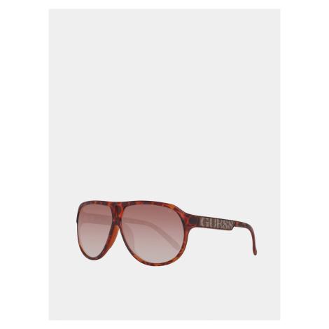 Guess brązowe okulary przeciwsłoneczne