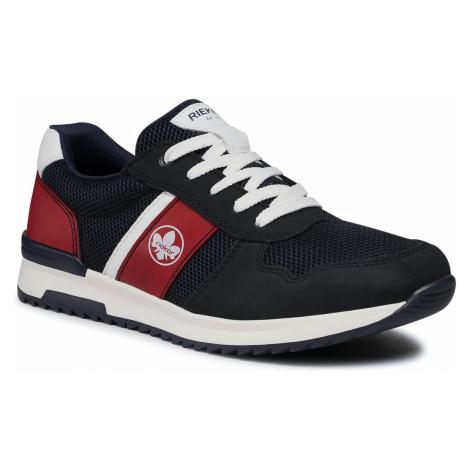 Sneakersy RIEKER - 16112-15 Blau Kombi
