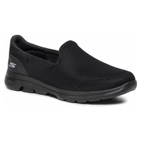 Półbuty SKECHERS - Go Walk 5 15901/BBK Black