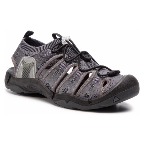 Sandały KEEN - Evofit 1 1021390 Heathered Black/Magnet
