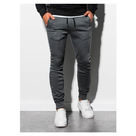 Spodnie dresowe męskie Ombre P867