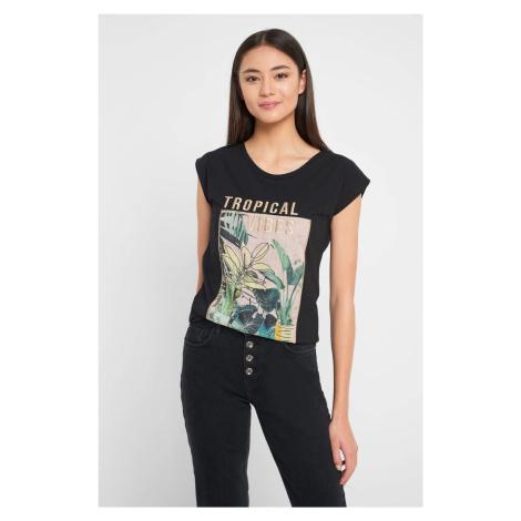 Bawełniana koszulka z nadrukiem Orsay