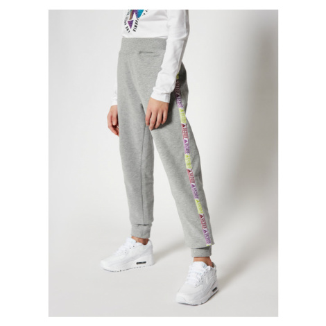 Guess Spodnie dresowe J0YQ08 KA6V0 Szary Regular Fit