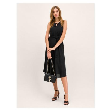 DKNY Sukienka koktajlowa DD9ED436 Czarny Regular Fit