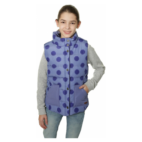 kamizelka Roxy Mellow Out - PMK6/Ikat Polka Dot Light Denim