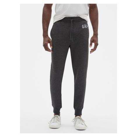 GAP szare męskie spodnie dresowe z logiem