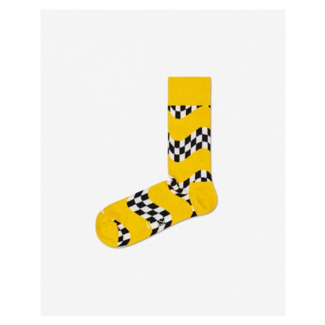 Happy Socks Race Skarpetki Żółty