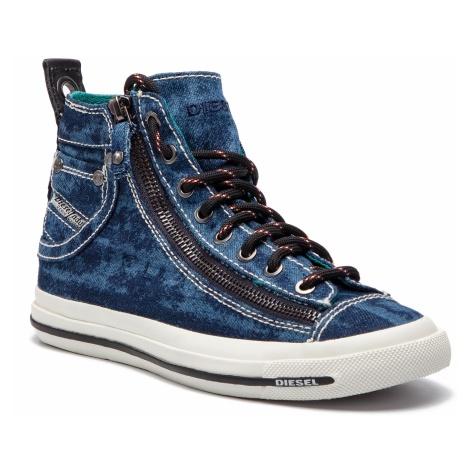 Sneakersy DIESEL - Expo-Zip W Y01751 P2088 T6316 Vallarta Blue