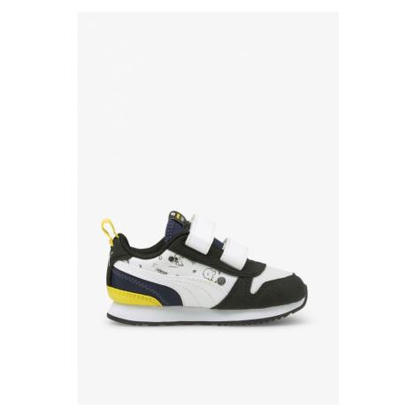 Buty Puma Sneakersy Peanutsr78 V Infblack-W 37574401 Black
