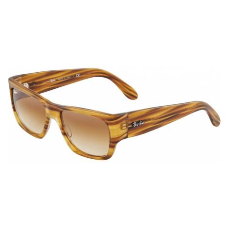 Ray-Ban Okulary przeciwsłoneczne '0RB2187' żółty / brązowy