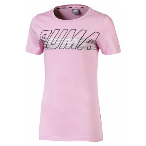 Puma Alpha Koszulka dziecięce Różowy