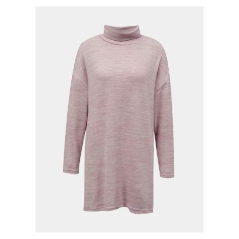 Tally Weijl różowy długi sweter
