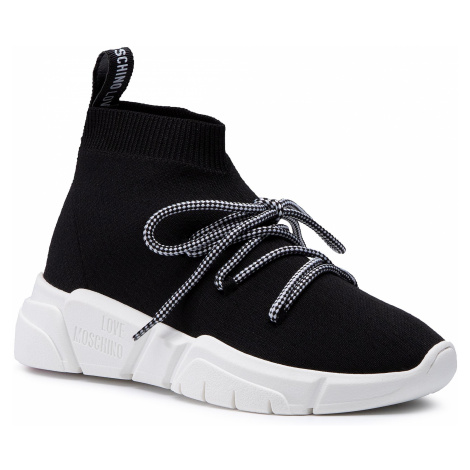 Sneakersy LOVE MOSCHINO - JA15143G1BIQ0000 Nero