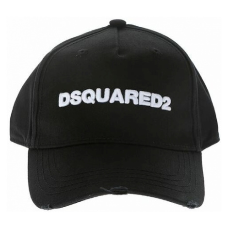Dsquared2, CAP Czarny, male, rozmiary: One size Dsquared²