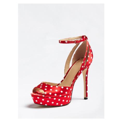 Sandały W Kropki Model Laurele Guess