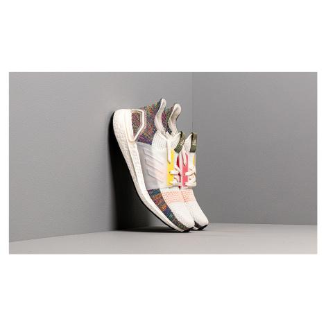 adidas Ultraboost 19 PRIDE Running White/ Scarlet/ Bright Yellow