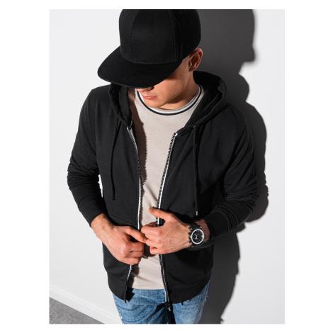 Ombre Clothing Men's zip-up sweatshirt B1152