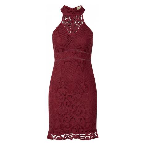 Love Triangle Sukienka koktajlowa 'Laetitia' bordowy