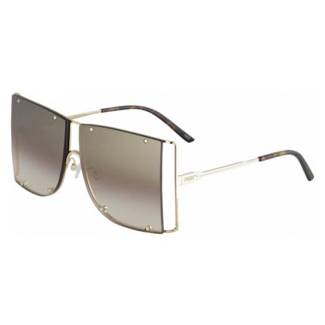 PUMA Okulary przeciwsłoneczne 'PU0189S-001 61' brązowy / złoty