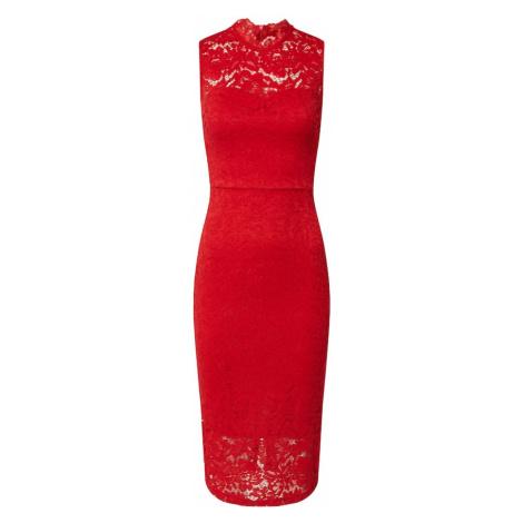 WAL G. Sukienka etui czerwony