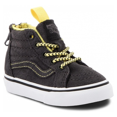 Sneakersy VANS - Sk8-Hi Zip VN0A32R3U4H1 (Mte) Yellow/Grey
