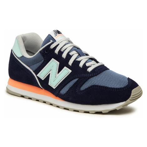 Sneakersy NEW BALANCE - WL373CT2 Granatowy