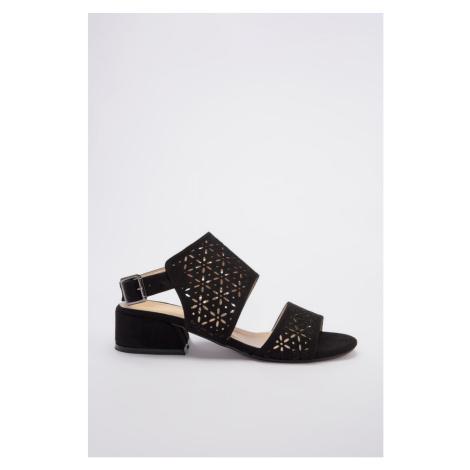 Trendyol Black Suede Women Classic Heels