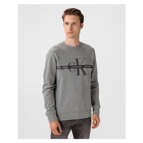 Calvin Klein Monogram Bluza Szary