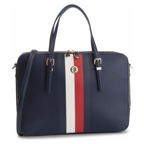 Torba na laptopa TOMMY HILFIGER - Honey Computer Bag AW0AW06485 901
