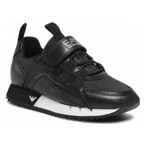 EA7 Emporio Armani Sneakersy XSX013 XOT32 N543 Czarny