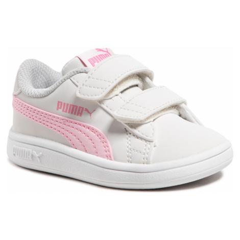 Sneakersy PUMA - Smash v2 Buck V Inf 365184 27 Nimbus Cloud/Pink Lady