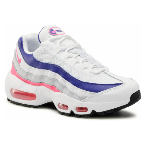 Buty NIKE - Air Max 95 DC9210 100 White/HyperPink/Concord